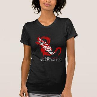 T-shirt de Tatto de dragon de Lisbeth Salander