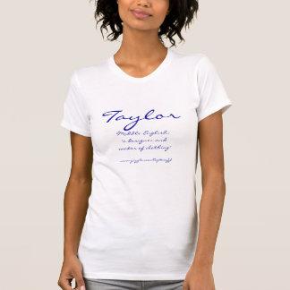 T-shirt de Taylor