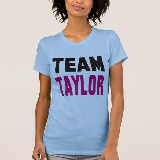 T-shirt de Taylor d'équipe