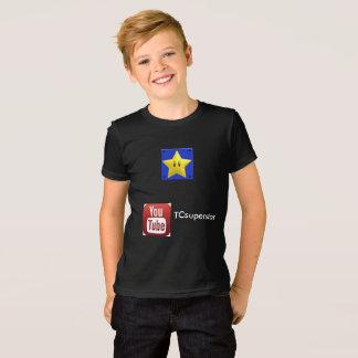 T-shirt de TCsuperstar Youtube pour des enfants