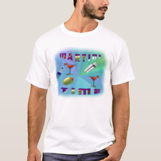 T-shirt de temps de Martini