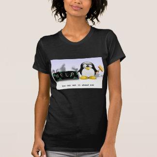 T-shirt de temps d'économie d'Anti-Lumière du jour
