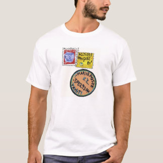 T-shirt de timbre