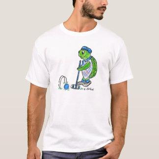 T-shirt de tortue de croquet