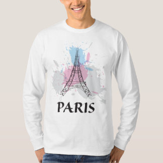 T-shirt de Tour Eiffel de Paris