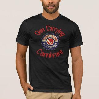 T-shirt de transport de carnivore d'arme à feu