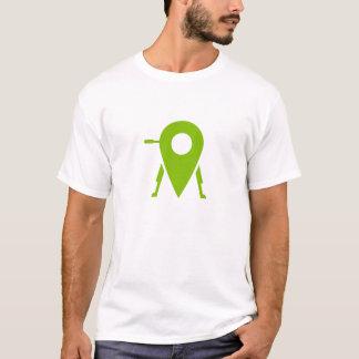 T-shirt de trépied du projet des hommes