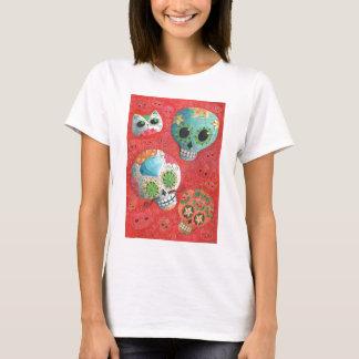 T-shirt De trois jours des crânes morts