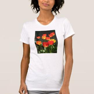 T-shirt de tulipe