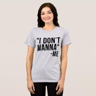 T-shirt de Tumblr que je ne veux pas à