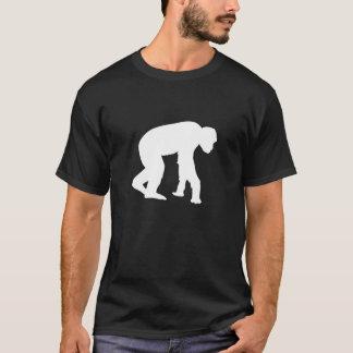 T-shirt de types d'homme des cavernes d'homme de