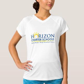 T-shirt de V-Cou d'école publique indépendante