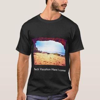 T-shirt de vacances de plage