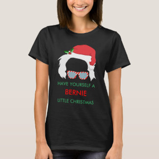 T-shirt de vacances de ponceuses de Bernie - Noël
