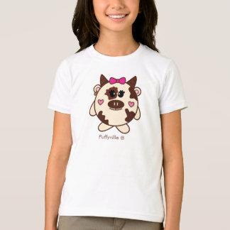 T-shirt de vache à Connie petit par Puffyville