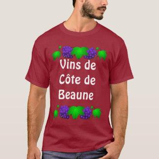 T-shirt de vin - Côte De Beaune