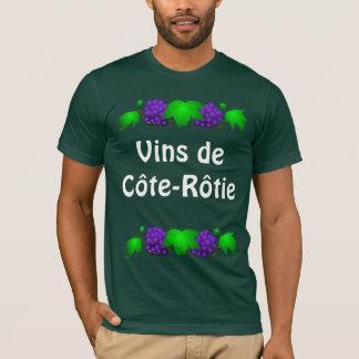 T-shirt de vin - Côte-Rôtie
