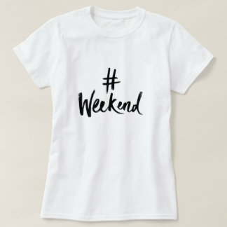 T-shirt de week-end