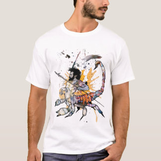 T-shirt de zodiaque de Scorpion
