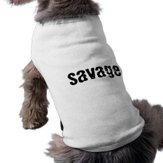 """T-shirt Débardeur de chien de """"sauvage"""""""