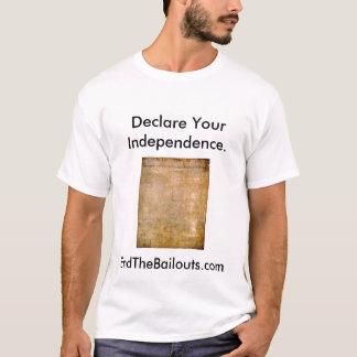 T-shirt Déclarez votre indépendance