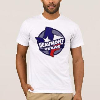 T-shirt d'éclat de drapeau de Beaumont le Texas