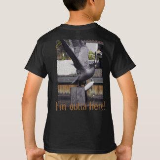 T-shirt Décollage de pélican