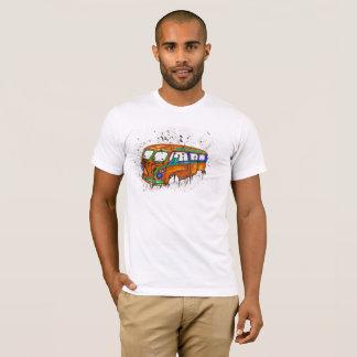 T-shirt décontracté amincissez la longue douille de