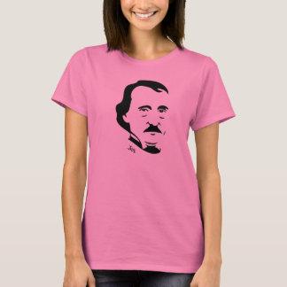 T-shirt d'Edgar Allan Poe pour des femmes (longue