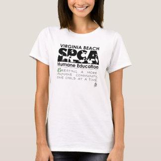 T-shirt d'éducation humanitaire de VBSPCA