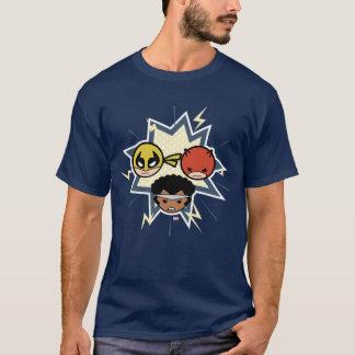 T-shirt Défenseurs de Kawaii