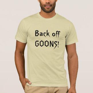 T-shirt Dégagez les CRÉTINS !