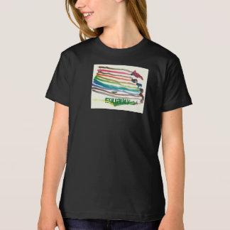 T-shirt d'égalité d'arc-en-ciel