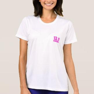 T-shirt Demi de finisseur de marathon - rose