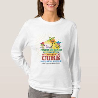 T-shirt Demi de marathon de Cinco De Mayo