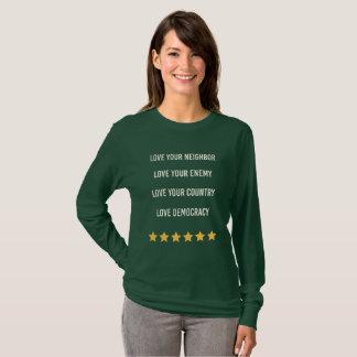 T-shirt Démocratie d'amour