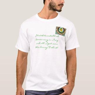 T-shirt Démocratie en Irak