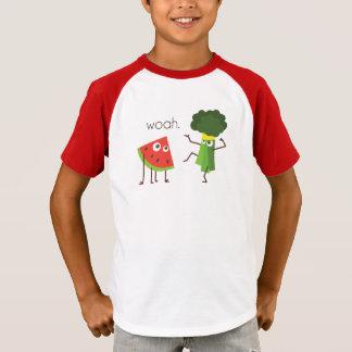 T-shirt d'enfant de brocoli