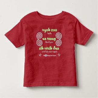 T-shirt d'enfant en bas âge de la Manche d'enfants
