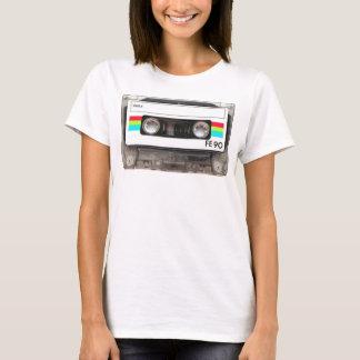T-shirt d'enregistreur à cassettes