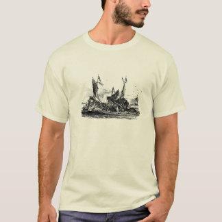 T-shirt Denys de Montfort Poulpe colossal/T-shirt de