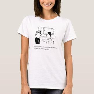T-shirt Dépendance organique et de commerce équitable