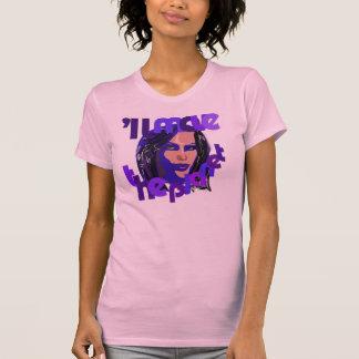 T-shirt déplacera la planète