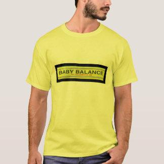 T-shirt d'équilibre de bébé