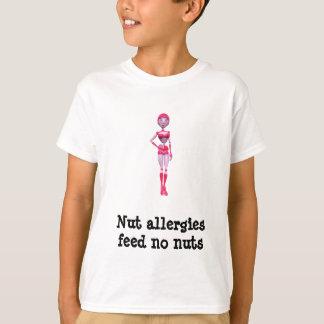 T-shirt Des allergies d'écrou - n'alimentez aucun écrou