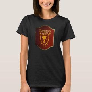 T-shirt des bras de la voyageuse des femmes