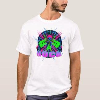 T-shirt des crânes 2 de Rockin