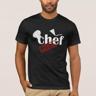 T-shirt des mondes de chef de pâtisserie de