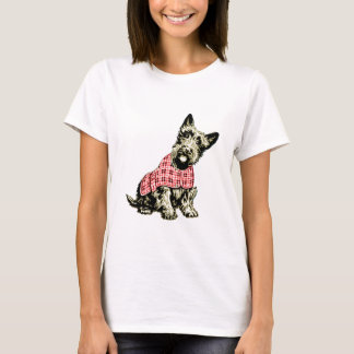 T-shirt des montagnes occidental de terrier de