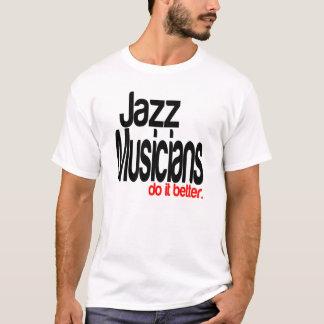 T-shirt Des musiciens de jazz il améliorent